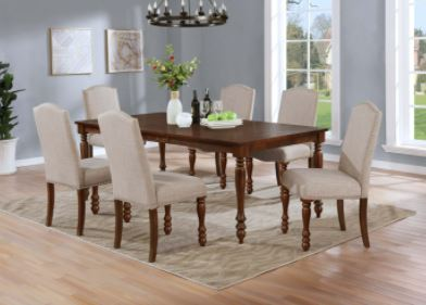 Traditional  7pc Dining collection.