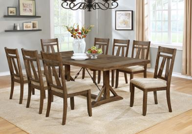 Big Table and 6 chairs.