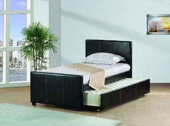 Platform Bed with Trundle!
