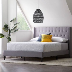 Sale Price Upholstered Bed – Gray or Tan!