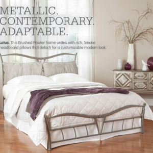 Designer King Metal Bed