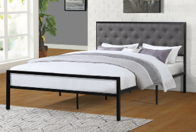 Two Tone Platform bed in Queen
