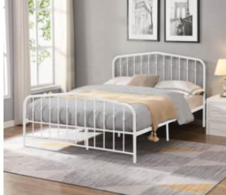 Victorian Metal Arc Platform Bed